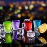 Nietopniejące kieliszki lodowe - kolorowe w sklepie internetowym Miły Drobiazg