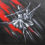 OBRAZ DANCE 1 80x80 cm OBRAZ/DANCE/1 w sklepie internetowym Hurtownia.Halma.pl