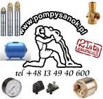 Zestaw głębinowy Pompa SKM 150 230V ze zbiornikiem hydroforowym 50l + akcesoria w sklepie internetowym Pompysanok.pl