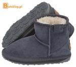 Buty EMU Australia Wallaby Mini Kids Charcoal (K10103) w sklepie internetowym ButSklep.pl