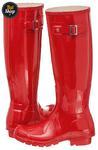 Buty Hunter Original Gloss Pillar Box Red (W23616) w sklepie internetowym ButSklep.pl