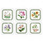 PODKŁADKI KORKOWE PIMPERNEL - Egzotyczne Kwiaty - Exotic Botanic Garden - MAŁE w sklepie internetowym Przestrzen.com.pl
