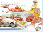 SZKLANA DESKA KUCHENNA NUOVA R2S - Pesce - Frutti di Mare (PES) w sklepie internetowym Przestrzen.com.pl
