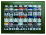 Vallejo Model Color 16 color Set 70101 Folkstone Basics (16) w sklepie internetowym Aerograf-Fengda