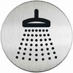 Oznaczenie drzwi metalowe okrągłe - PRYSZNIC w sklepie internetowym OLE.PL