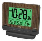 Budzik JVD RB9242.2 Termometr DCF77 Dwa Alarmy w sklepie internetowym ZegaryZegarki.pl