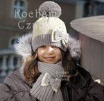Komplet Alina jasny krem + szary rozm. 52-54 cm - szary w sklepie internetowym Kocham Czapki