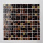 Mozaika Szklana Brązowa-złota KMC06 w sklepie internetowym Supermozaika.pl
