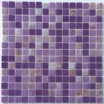 Mozaika Szklana Fioletowa+Perłowa+ złota KMC04 w sklepie internetowym Supermozaika.pl