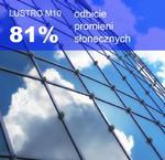 Folia okienna refleksyjna LUSTRO WENECKIE M10 ( silver/grey) szer.1,52 m w sklepie internetowym Profilms