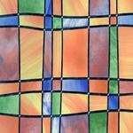 Folia witrażowa barcelona 11803/11805/11807 w sklepie internetowym Profilms