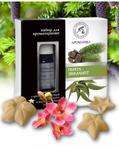 Zestaw do Aromaterapii Jodła i Eukaliptus, Olejki Naturalne i Gwiazdki Ceramiczne, Aromatika w sklepie internetowym  BIOKORD