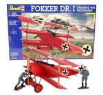 Model do sklejania Revell Fokker Dr.I 1:28 w sklepie internetowym ksiegarnia-marki.pl