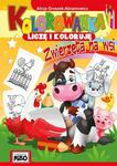 Kolorowanka. Liczę i koloruję. Zwierzęta na wsi w sklepie internetowym ksiegarnia-marki.pl