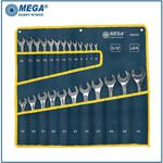 MEGA 35344 zestaw kluczy oczkowych płaskie 6- 32mm klucze oczkowe kute CrV, szlifowane, chromowane w sklepie internetowym Makita Sklep