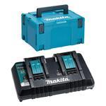 DC18RD Dwuportowa szybka ładowarka 7.2V-18V Li-Ion MAKITA, port USB do ład. smartfonów w walizce systemowej w sklepie internetowym Makita Sklep