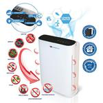 DEDRA Descon DA-P055 Oczyszczacz powietrza 55W do 30m2 Anty Smog PM2.5 PM10 Filtr PP, HEPA i węglowy Lampa bakteriobójcza UV-C w sklepie internetowym Makita Sklep