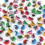 Ruchome oczy prace plastyczne dekoracja scrapbooking w sklepie internetowym Kupwkoszalinie