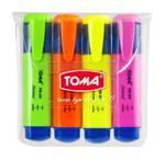 Zakreślacz Mistral komplet 4 kolorów TOMA w sklepie internetowym sklepkrzyzanek.pl