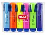 Zakreślacz Mistral komplet 6 kolorów TOMA w sklepie internetowym sklepkrzyzanek.pl