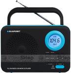 Przenośny radioodtwarzacz Blaupunkt PP12BK - SD / USB / AUX / ZEGAR / ALARM w sklepie internetowym KlimaSklep