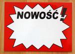 TABLICA INFORMACYJNA - NOWOŚĆ! w sklepie internetowym marikus.pl