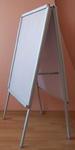 Tablica plakatowa dwustronna (potykacz) - format A1 w sklepie internetowym marikus.pl
