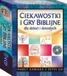 4xCD PAKIET CIEKAWOSTKI I GRY BIBLIJNE dla dzieci i dorosłych w sklepie internetowym Księgarnia Dobrego Pasterza
