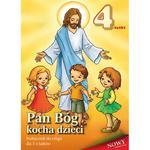 Pan Bóg kocha dzieci Podręcznik do religii dla czterolatków w sklepie internetowym Księgarnia Dobrego Pasterza