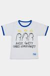 """Koszulka dziecięca """"Każdy Święty chodzi uśmiechnięty!"""" w sklepie internetowym Księgarnia Dobrego Pasterza"""