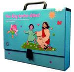 Pan Bóg kocha dzieci - teczka pomocy dydaktycznych dla katechety – 4-latki w sklepie internetowym Księgarnia Dobrego Pasterza