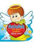 """Aniołek uczy dzieci modlitwy """"Ojcze nasz"""" w sklepie internetowym Księgarnia Dobrego Pasterza"""