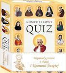 Komputerowy Quiz o Świętych z obwolutą I Komunia Św. w sklepie internetowym Księgarnia Dobrego Pasterza
