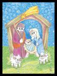 PUZZLE Święta Rodzina w stajence II (MG-PM-087) w sklepie internetowym Księgarnia Dobrego Pasterza