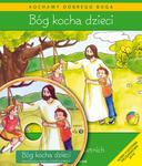 Bóg kocha dzieci Podręcznik do religii dzieci czteroletnich + Płyta MP3 w sklepie internetowym Księgarnia Dobrego Pasterza