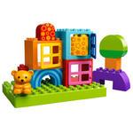LEGO - Klocki LEGO DUPLO LEGO Ville 10553 - Kreatywny domek dla maluszka - 10553 w sklepie internetowym Educco.pl