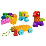 LEGO - Klocki LEGO DUPLO LEGO Ville 10554 - Kreatywny domek do ciągnięcia ... - 10554 w sklepie internetowym Educco.pl