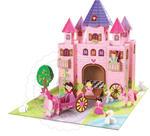Krooom - ekologiczne zabawki z kartonu - Zamek z Bajki - domki dla lalek z trwałego kartonu Krooom - K219 w sklepie internetowym Educco.pl