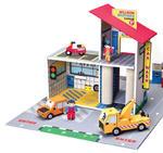 Krooom - ekologiczne zabawki z kartonu - Garaż braci Willson - zabawka z trwałego kartonu Krooom - K303 w sklepie internetowym Educco.pl