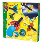 SES Creative - zabawki kreatywne, zabawki plastyczne, zestawy do malowania i modelowania, zabawki edukacyjne - Rakiety napędzane powietrzem - zestaw - SE 14904 w sklepie internetowym Educco.pl