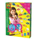 SES Creative - zabawki kreatywne, zabawki plastyczne, zestawy do malowania i modelowania, zabawki edukacyjne - Zestaw biżuterii do szamodzielnego tworzenia - zabawka kreatywna - SE 00975 w sklepie internetowym Educco.pl