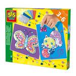 SES Creative - zabawki kreatywne, zabawki plastyczne, zestawy do malowania i modelowania, zabawki edukacyjne - Kreatywny zestaw - stwórz mozaikę - SE 14813 w sklepie internetowym Educco.pl