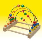 Joy-Toy - pętle motoryczne - Zakręcone kuleczki - Labirynt Abacus - pętle motoryczne - 0101750 w sklepie internetowym Educco.pl