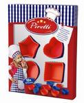 SES Creative - zabawki kreatywne, zabawki plastyczne, zestawy do malowania i modelowania, zabawki edukacyjne - Zestaw kucharza - Foremki do muffinek - Piretti - SE 09427 w sklepie internetowym Educco.pl