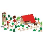 GOKI - Moja leśniczówka - zabawka drewniana - 51895 w sklepie internetowym Educco.pl