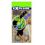 SES Creative - zabawki kreatywne, zabawki plastyczne, zestawy do malowania i modelowania, zabawki edukacyjne - Kompas i termometr dla podróznika - explore - 25059 w sklepie internetowym Educco.pl
