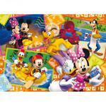 CLEMENTONI - CLEMENTONI Puzzle 60 elementów - Myszka Mickey PCL-26574 - PCL-26574 w sklepie internetowym Educco.pl
