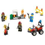 LEGO - Klocki LEGO City 60088 - Strażacy - zestaw startowy - 60088 w sklepie internetowym Educco.pl