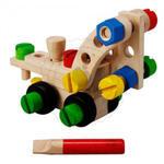 Plan Toys - Zestaw konstrukcyjny 30 części, Plan Toys - PLTO-5533 w sklepie internetowym Educco.pl
