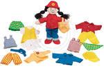 GOKI - Laleczka szmaciana - dziewczynka Sally - zabawki dla dzieci - 51949 w sklepie internetowym Educco.pl